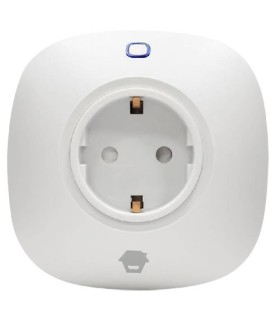 Remotely controlled power outlet via H4 alarm system