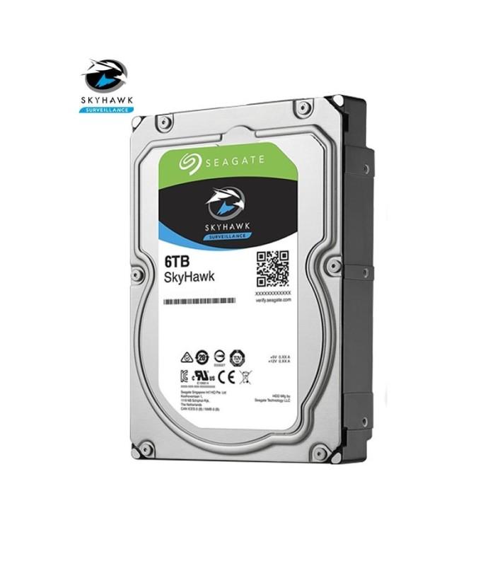 Hard drive specific for video surveillance Seagate SKYHAWK 6 TB
