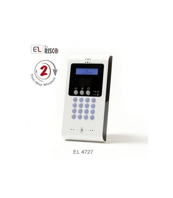 Teclado sem fios para central de intrusao iConnect 2-Way da Electronics Line