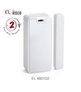Detector  de dupla zona, magnético e transmissor universal EL 2Way EL4801DZ