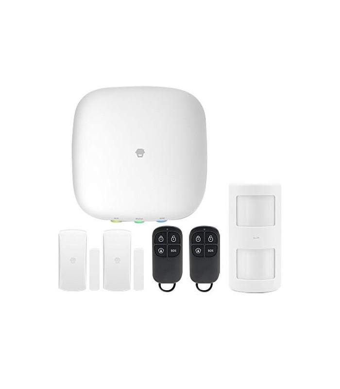 Kit d'alarme sans fil avec GSM et WIFI Chuango H4 PLUS