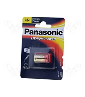 CR2 - Batteria al litio Panasonic