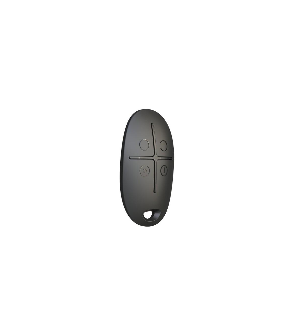 Noir Ajax-Télécommande avec panique touche-SPACECONTROL