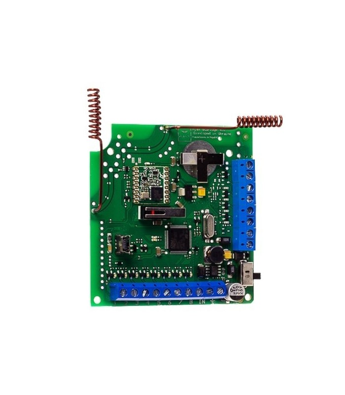 Module for integration with wired and hybrid security systems