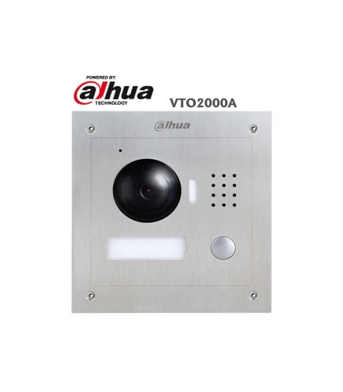 VTO2000A Outdoor IP Video Doorphone Unit with 1.3Mpx camera