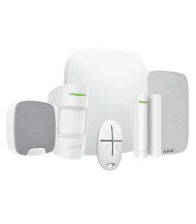 Kit di allarme wireless Ajax AJ-HUBKIT-W-KS