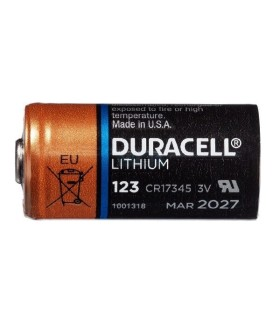 Duracell  Lithium Battery CR123A