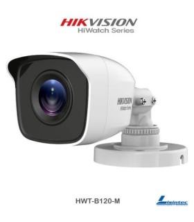 Cámara bullet Hikvision 1080p lente 2.8 mm - HWT-B120-M