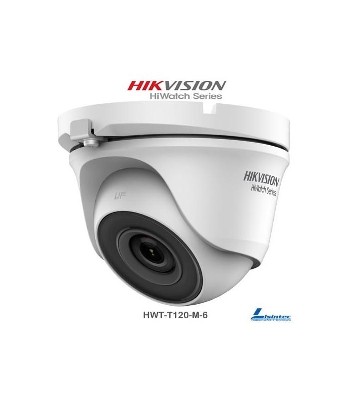 Hikvision Dome Camera 1080p, 6 mm Lens - HWT-T120-M-6