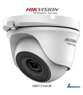 Cámara domo Hikvision 4Mpx, lente 2.8 mm - HWT-T140-M