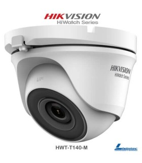 Hikvision Dome Camera 4Mpx, 2.8 mm Lens - HWT-T140-M