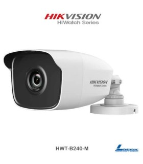 Cámara bullet Hikvision 4Mpx, lente 2.8 mm - HWT-B240-M