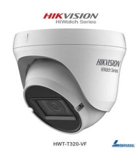 1080p Hikvision ECO dome Camera 4 in 1 varifocal lens - HWT-T320-VF