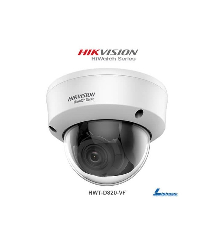1080p Hikvision Dome Camera 4 in 1with varifocal lens - HWT-D320-VF