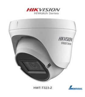 Hikvision 1080p PRO Dome Camera, Motorized Lens 2.7~13.5mm IR 70m - HWT-D323-Z