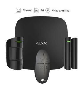 Ajax wireless alarm kit AJ-HUBKIT-B Black