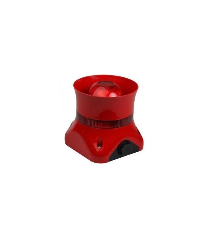 Sirene convencional exterior para alarme de incendio