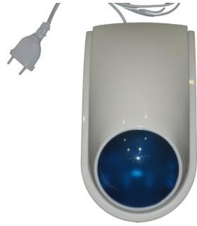 Sirena exterior inalámbrica para sistemas de alarma de 866 MHz