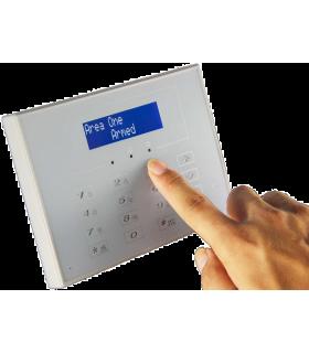 Teclado sem fios bidirecional para alarme 433MHz