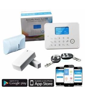 Alarme sem fios GSM-PSTN G60 433Mhz ou 868MHz