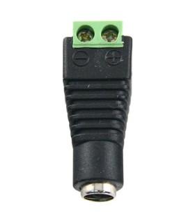 Conector DC Femea para CCTV