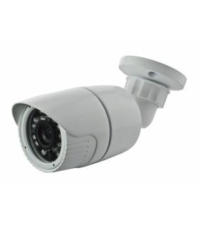 Cámara compacta HDCVI 720p con otica fja  3.6mm y infrarrojos hasta 30m