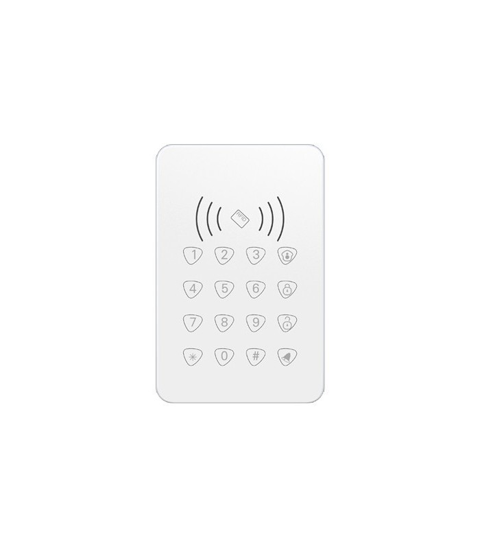 Clavier sans fil avec lecteur de carte RFID