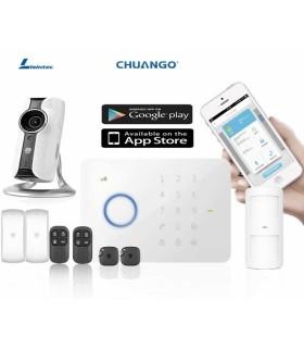 CHUANGO alarm G5 + IP Camera IP116