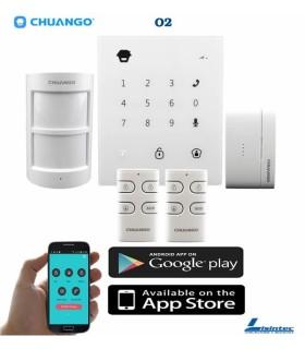 Kit de alarme wireless GSM Chuango GO2
